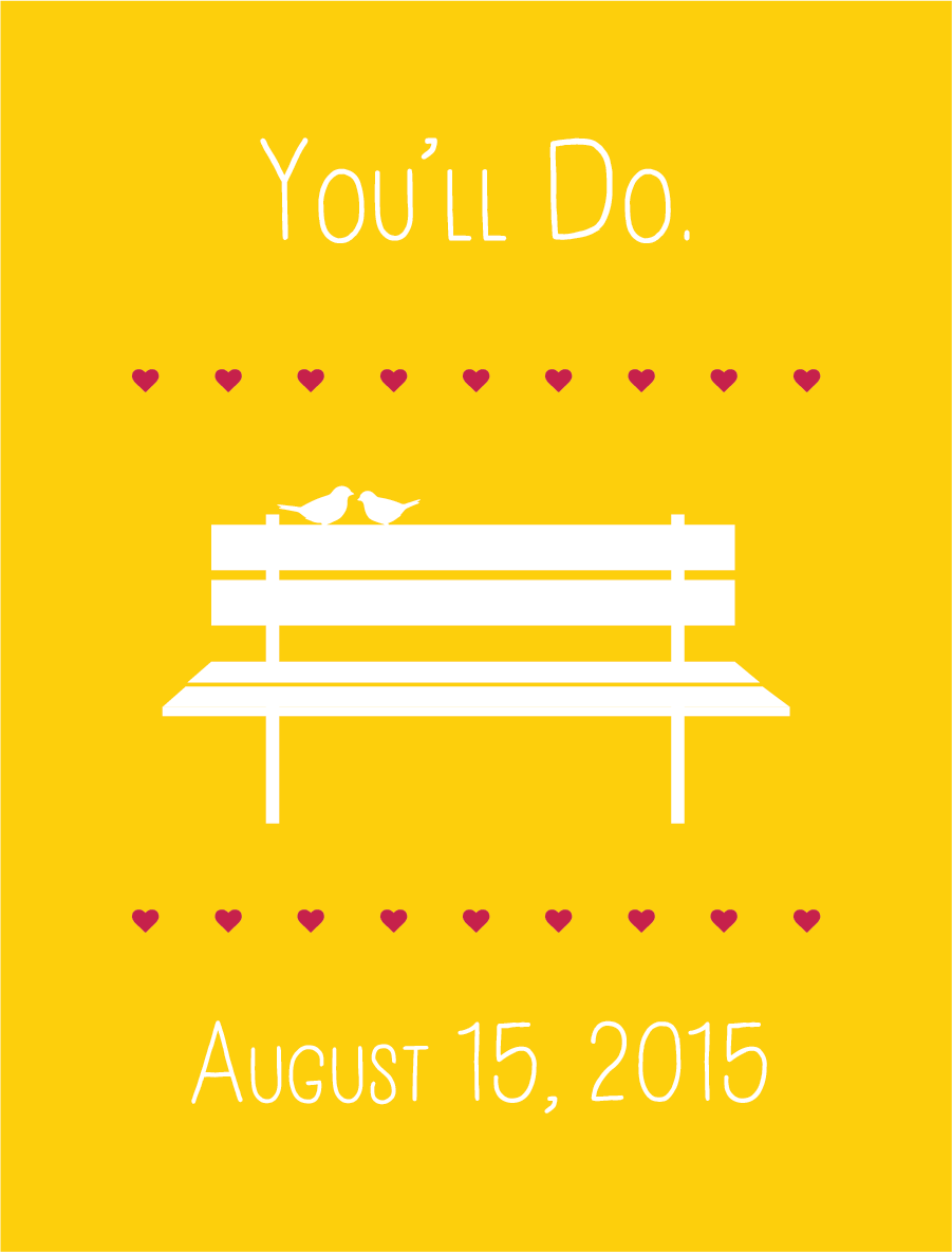 You'll Do. August 15, 2015